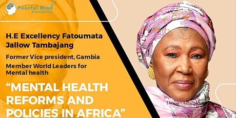 Mental Health Reforms and Policies in Africa tickets