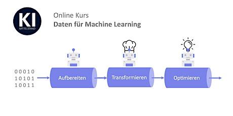 KI-Trainer: Online-Kurs Daten für Machine Learning – Teil 2: Transformation Tickets