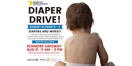 Diaper Donation Drive tickets