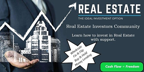 Learn Real Estate Investing - 3 Simple Steps tickets