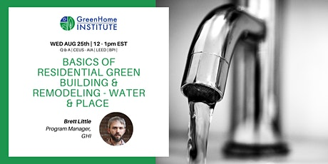 Basics of Residential Green Building and Remodeling - Session 5 tickets