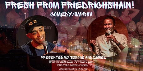 Fresh From Friedrichshain! Comedy and Improv! Tickets