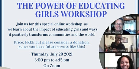 The Power of Educating Girls tickets