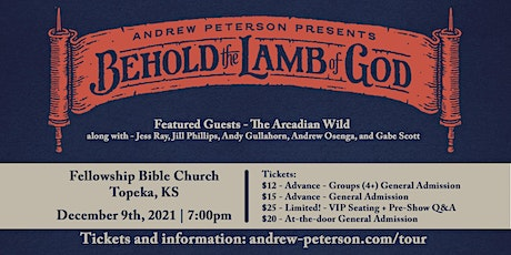 Andrew Peterson Presents: Behold the Lamb of God Tour 2021 tickets