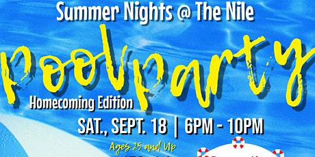 Nile Swim Club Presents-Summer Nights:Homecoming Edition tickets