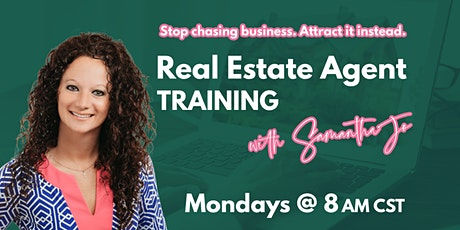 Stop chasing. Start attracting. Real Estate Agent Training. (FREE!) billets
