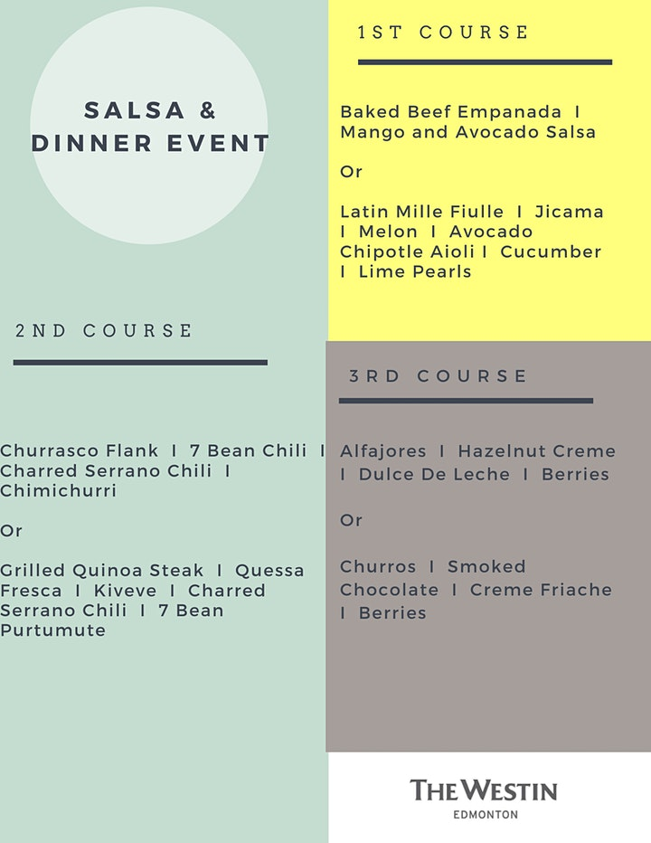 Salsa Dance & Dinner Event - Weekends At Westin Series image