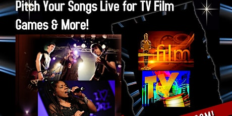 Get Your Music On TV Song Pitch-A-thon & Networking Event (Fall 2021) tickets