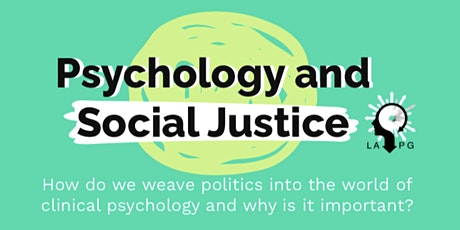 LAPG Virtual Conference 2021: Psychology and Social Justice tickets