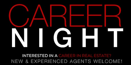 Real Estate Career Night (Virtual + In Person) tickets