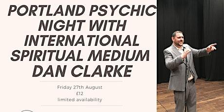 Portland psychic Night with Dan Clarke tickets