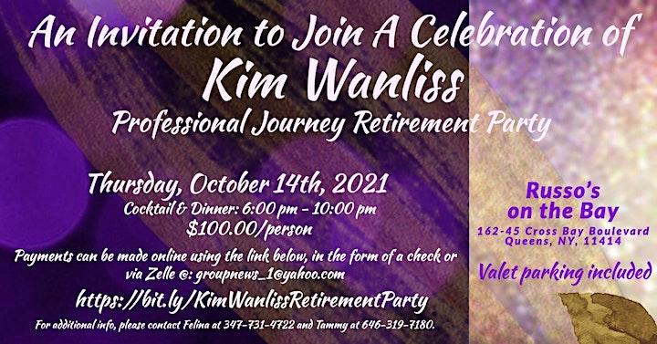 A Celebration of Kim Wanliss Professional Journey image