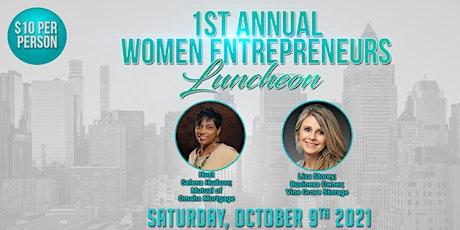 Women Entrepreneurs' Luncheon tickets