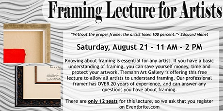 Framing Lecture tickets