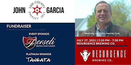 Garcia for Sheriff Fundraiser - Sponsored by Forseti Protection Group tickets
