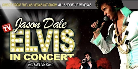 The king of Elvis Tributes with full band and the Las Vegas Showgirls. tickets