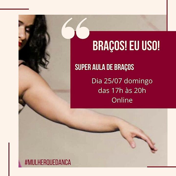 Imagem do evento Super Aula de Braços