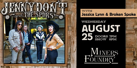 Jenny Don't and the Spurs tickets