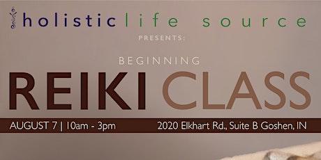 Beginning Reiki Class tickets