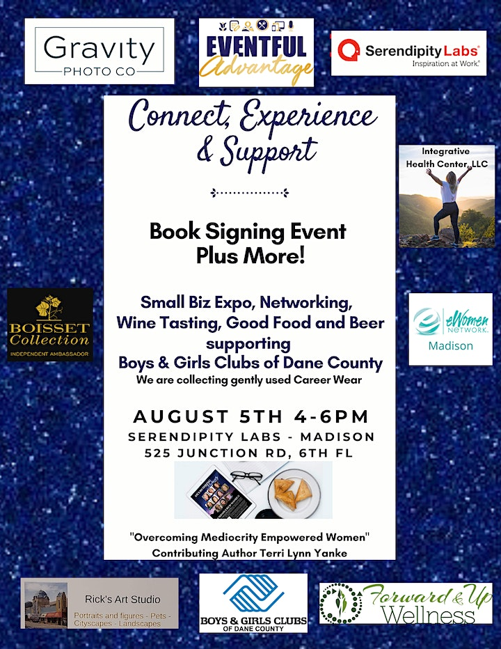 Connect, Experience & Support - Book Signing Event, Plus More! image