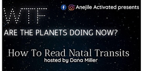 WTF Are The Planets Doing Now? How To Read Natal Chart Transits billets