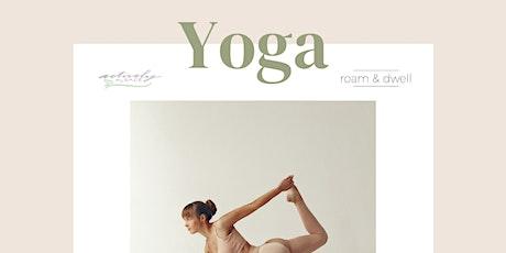 Yoga Saturdays at roam & dwell tickets