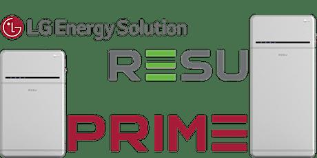 LG Energy Solution Australia - Gen3 RESU PRIME  installer training webinar tickets