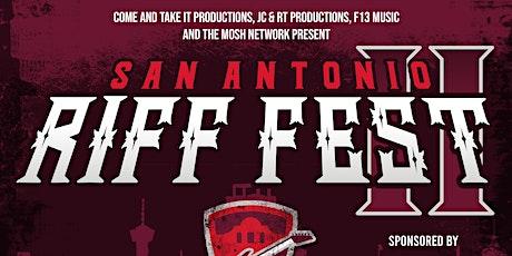 SAN ANTONIO RIFF FEST 2021 tickets