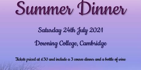 Addenbrookes Summer Dinner tickets