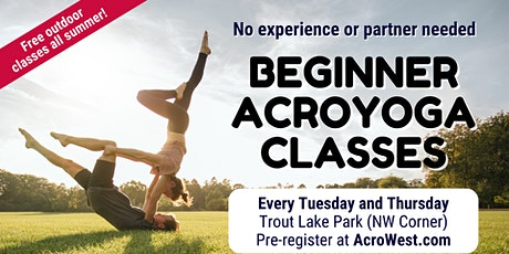 Free Beginner Acroyoga Classes tickets