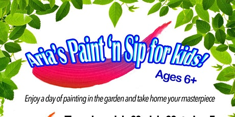 Aria's Paint 'n Sip for Kids! tickets
