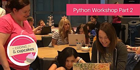 Coding & Cupcakes | August | Python Workshop Part 2 tickets