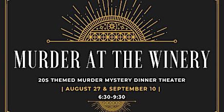 20s themed Murder Mystery Dinner Theater tickets