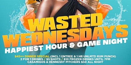 2 FOR 1 DRINKS @ GAME NIGHT 5PM - 7PM open till 1AM tickets
