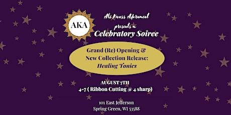Celebratory Soiree @ Ali Kauss Adornment tickets