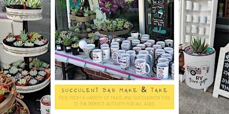 Succulent Bar tickets