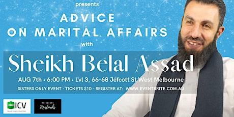 Belal Assaad - Marital Advise tickets
