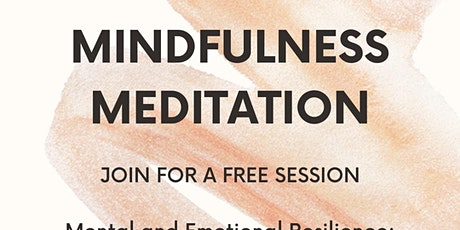 Mindfulness Meditation: Introduction to SKY Breath Work and Meditation tickets