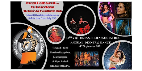 2021 Victorian Sikh Association Dinner and Dance! tickets