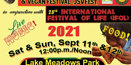 African/Caribbean Intl Festival of Life/JSVFest -Jerk, Seafood & Vegan Fest tickets
