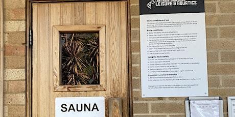 Roselands Aquatic Sauna Sessions - Monday 9 August 2021 tickets