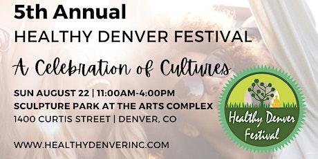Healthy Denver Festival tickets