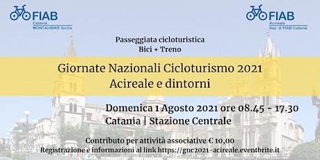 Giornate Nazionali Cicloturismo 2021 - Acireale e biglietti