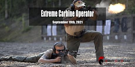 Extreme Carbine Operator (ECO) Sep 19, 2021 tickets