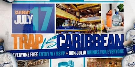 Tequila Open Bar, Trap x AfroBeats, R&B x Caribbean, Free w/ RSVP tickets