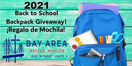 2021 Annual Back-To-School Backpack GiveAway for Children  Pre-K-12th Grade tickets
