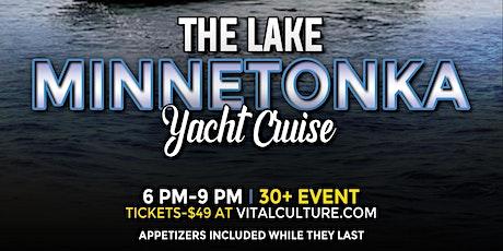 The Lake Minnetonka Yacht Cruise tickets