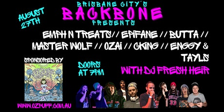 Brisbane City's Backbone Presents tickets