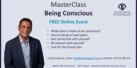 MasterClass - Being Conscious tickets