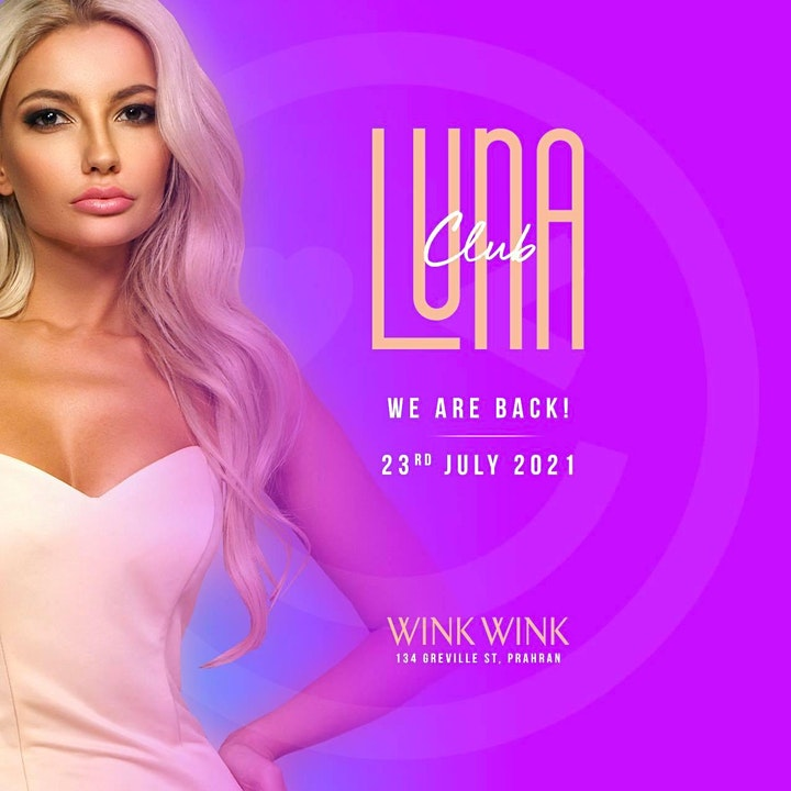 Club LUNA  July 23rd Friday image